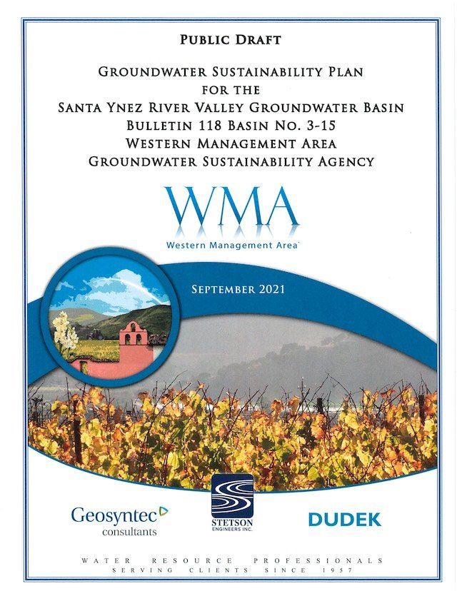 Groundwater Sustainability Plan